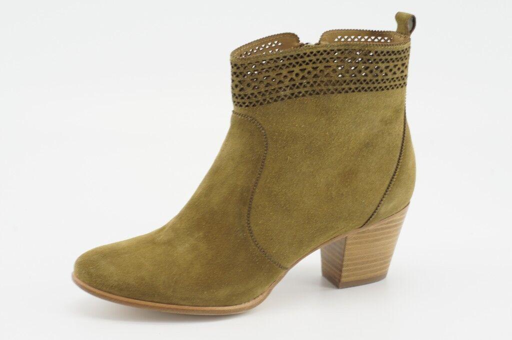 398 NEW Aerin Tilstone Fennel Suede Ankle Stiefel 9.5 AL0151 Designer Booties