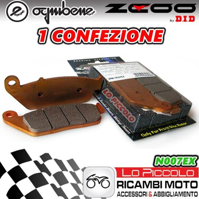 Zcoo DID Kit de 2 Pastillas de Freno Delantero Triumph Bonneville 800 T 100 2006