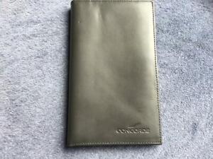 British Airways Concorde Leather Money Credit Card Holder Wallet Vers 25