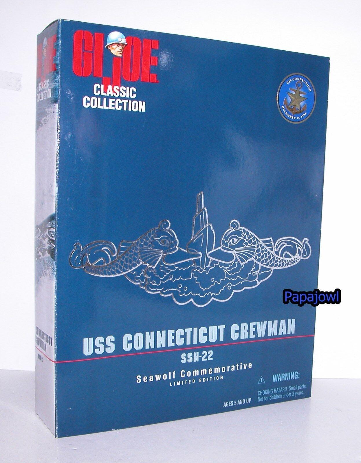G.I. Joe USS Connecticut Crewman SSN-22 Seawolf Limited Classic 1998 Kenner
