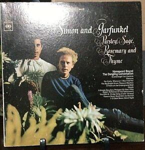 SIMON & GARFUNKEL Parsley, Sage, Rosemary & Thyme Album Released 1966 Vinyl USA