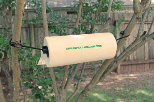 Paper Towel holder for Camping Indoors use Outdoors Ez-Roll Holder RV Cars