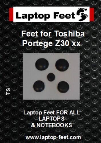 Laptop Feet for Toshiba Portege Z30 xx compatible kit 5 pcs self adhesive 3m