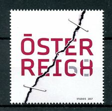 Austria 2017 MNH Outlook 2050 Visions for Future Tensile Test 1v Set Stamps