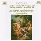 "Wolfgang Amadeus Mozart - Mozart: ""Kegestatt"" Trio, K. 498; Clarinet Quartets, K. 317d & K. 496l (1993)"