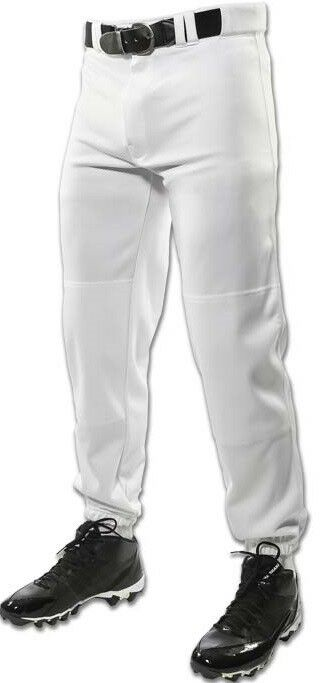 WHITE BASEBALL PANTS YOUTH - LOT OF 22 PAIR - CLOSE-OUT PRICING- FREE SHIPPING