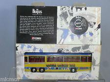 "CORGI TOYS MODEL No.35302 ""THE BEATLES "" BEDFORD"" MAGICAL MYSTERY TOUR BUS""  MIB"