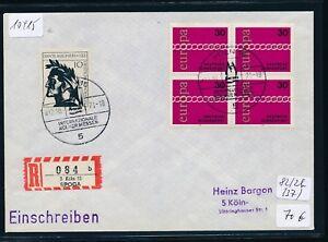 10415) Spécial R-ticket De Cologne Spoga, Lettre Sst 12.10.71, Rare-afficher Le Titre D'origine éLéGant Dans Le Style