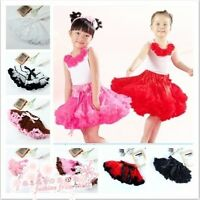 Beauty Kids Girls Toddler Lace Pettiskirt Tutu Ballet Dancewear Princess Skirt