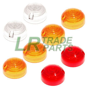 LAND-ROVER-SERIES-3-amp-DEFENDER-90-110-INDICATOR-SIDE-amp-TAIL-LIGHT-LAMP-LENS-KIT