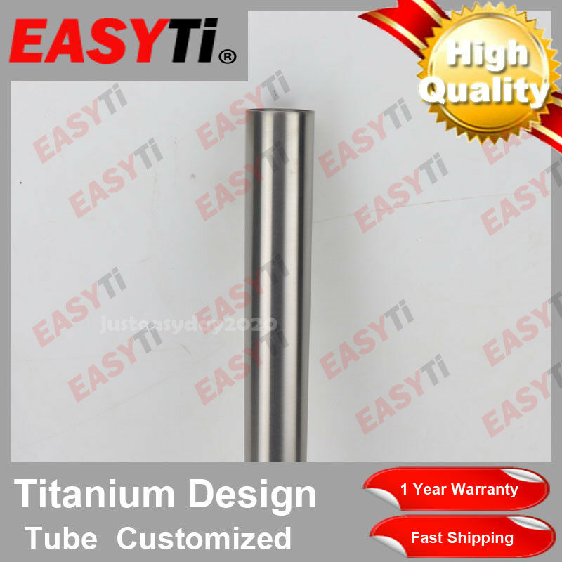 EasyTi GR9 Titanium Ti CNC Seat Post Tube 30500mm