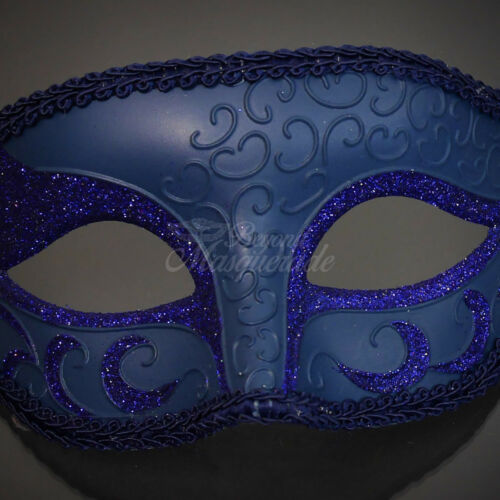 Blue Masquerade Mask Classic Ball Mask M6107