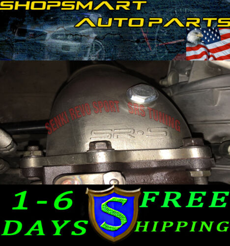 """SRS 3/"""" DOWNPIPE DOWN PIPE WRX 08-14 STI 08-16 LEGACY GT 05-09 FORESTER XT 09-13K"""