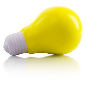 Details About Light Bulb Stress Ball Reliever Adhd Autism Toy