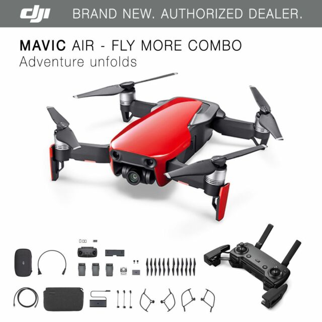 96ea3967ee9 DJI Mavic Air Fly More Combo Quadcopter - Flame Red (CP.PT ...
