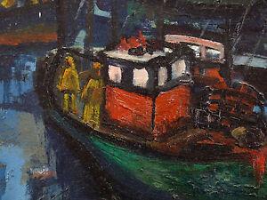 Matrosen-Im-Hafen-Ol-auf-Tafel-Unterzeichnet-in-Niedrig-Rechts-Marine