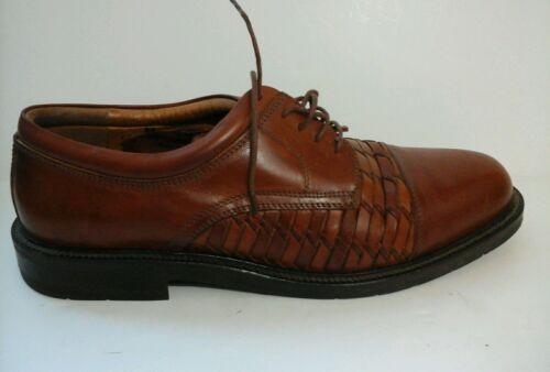 Johnston & Murphy Men's Brown Oxford Shoes size 12 M 92617 1
