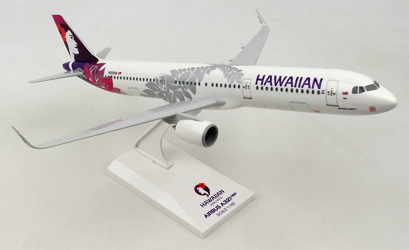 Hawaiian Airlines-Airbus a321neo - 1 150 - Skymarks skr990-a321 Neo Hawaii