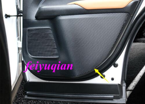 Carbon fiber car door Anti Kick Pad protect Cover For Lexus UX200 250h 260h 2019