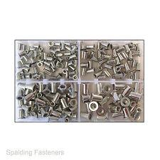 Assorted M4, M5, M6 & M8 Metric Aluminium Nutsert Rivnut Rivet Nuts