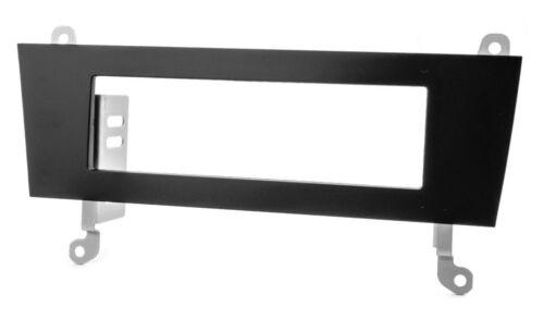 Façade Radio Pour Audi a4 b8 q5 à partir de 2007 DIN Ouverture Cadre Support Noir
