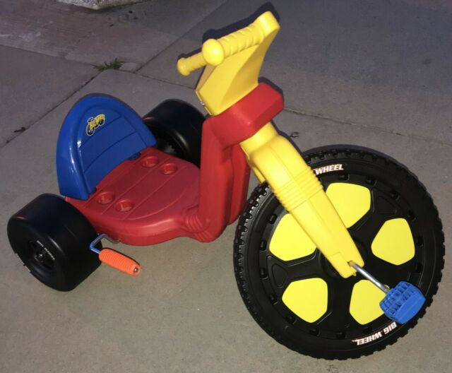 Original Big Wheel Spin Out Low-Riding Tricycle Racer