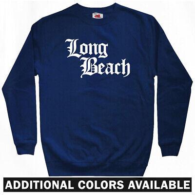 Los Angeles Most Wanted Rap CA Crewneck Men S-3XL Compton Gothic Sweatshirt