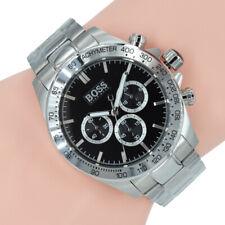 e4ffbc3d0001 artículo 3 Hugo Boss Reloj Cronógrafo 1512965 Ikon Plata Negro Reloj  Pulsera Acero -Hugo Boss Reloj Cronógrafo 1512965 Ikon Plata Negro Reloj  Pulsera Acero