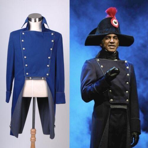 Musical Les Miserables Norm Lewis Javert Jacket Uniform Costume Cosplay AA.0850
