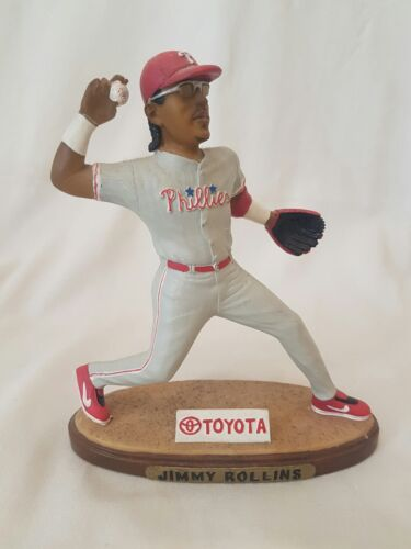 MLB Jimmy Rollins Phillies Baseball Collectible Figurine 2005 Limited Edition
