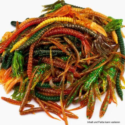 Softbait Creature Set Insekten Würmer Krabben etc gemischtes Set 100 Stück