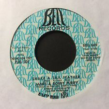 """JAMES & BOBBY PURIFY: """"SHAKE A TAIL FEATHER"""" on US BELL DEMO"""