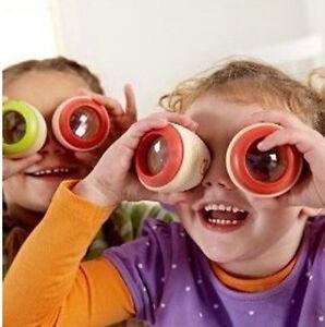 Augen-Prisma-Kaleidoskop-traditionelle hölzerne Spielzeug scherzt Spaß erziehen^