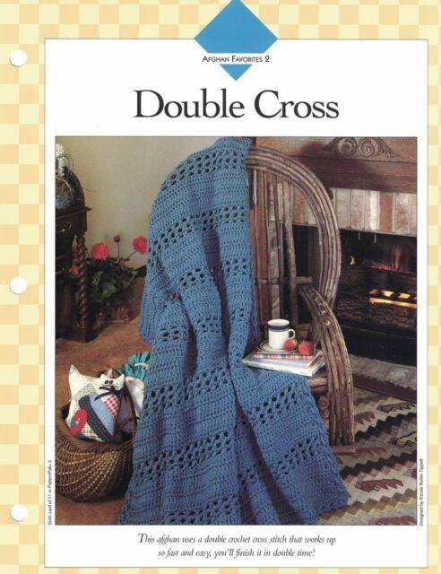 Evergreen Afghan ~ Quick /& Easy crochet pattern