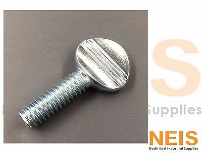 Thread Size 3//8-16 Thread Size 3//8-16 FastenerParts 18-8 Stainless Steel Spade-Head Thumb Screw