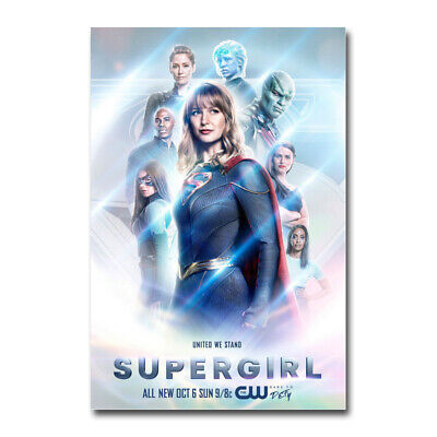 Supergirl Season 5 TV Series DC Comics Poster Silk canvas Poster Print 32x48inch