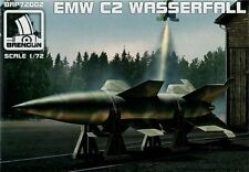 Brengun 1/72 Model Kit 72002 EMW Wasserfall C2 guided rocket with stand