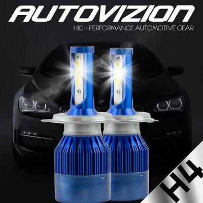 AUTOVIZION LED HID Headlight kit H4 9003 6000K for 2000-2005 Toyota Echo