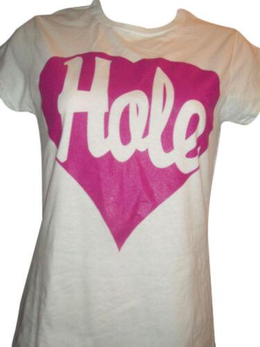 LADIES WOMENS COURTNEY LOVE /'HOLE/' T SHIRT