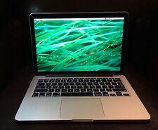 "2014 Apple MacBook Pro 13"" Retina 2.6ghz i5 16gb Ram 256gb SSD applecare"