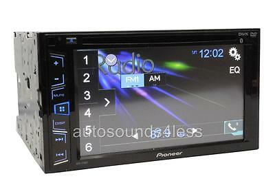 "Pioneer Double 2 Din AVH-270BT RB DVD/MP3/CD Player 6.2"" Touchscreen Bluetooth"