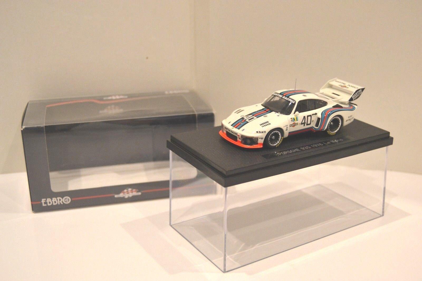 Ebbro 1 43. Porsche 935  Martini Racing  nº 40 - 24H du Mans 1976. Réf. 768.