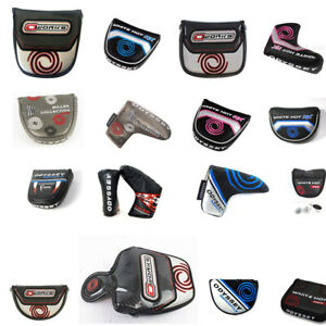 Brand-New-Odyssey-Putter-Cover-Mallet-Blade-2-Ball-O-Works-Milled-White-Hot-Pro