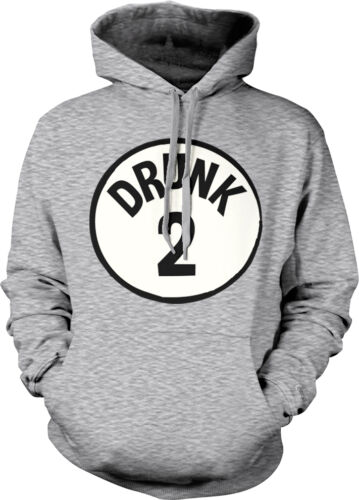 Drunk 2 Thing 2 Drinking Alcohol Beer Liquor Drunk Party Hoodie Pullover
