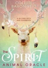 The Spirit Animal Oracle : A 68-Card Deck and Guidebook by Colette Baron-Reid (2018, Cards,Flash Cards)