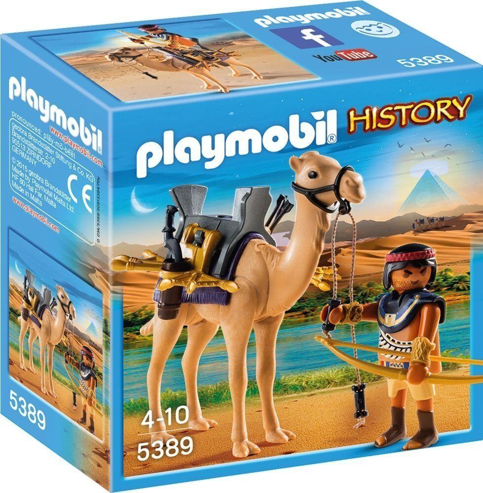Playmobil History 5389. Egipcio con camello. A partir de 4 años
