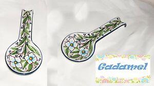 Poggia-Mestolo-a-Cucchiaio-in-Ceramica-Artistica-Sorrentina-cm-27x12