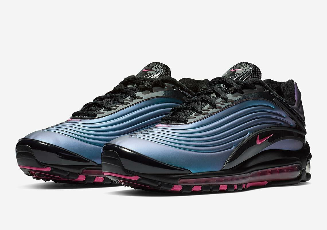 SUPER RARE NIKE AIR MAX DELUXE TRAINERS, UK9.5, 'NORTHERN LIGHTS', AJ7831004