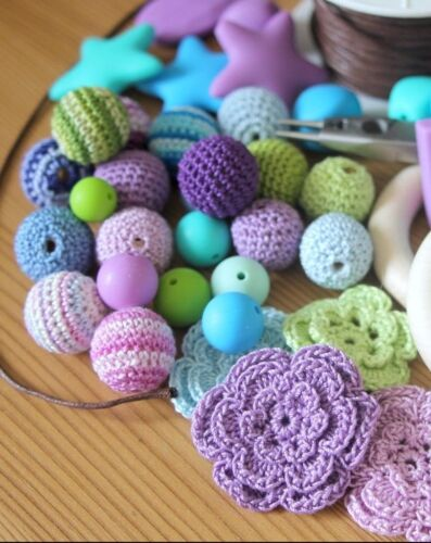 x10 12mm round or lentil beads x5 x30 pack size Silicone beads wholesale x20