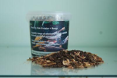 Vasca Da Bagno Litri : Koi fish cibo gamberetti baco da seta mealworm pellet mix